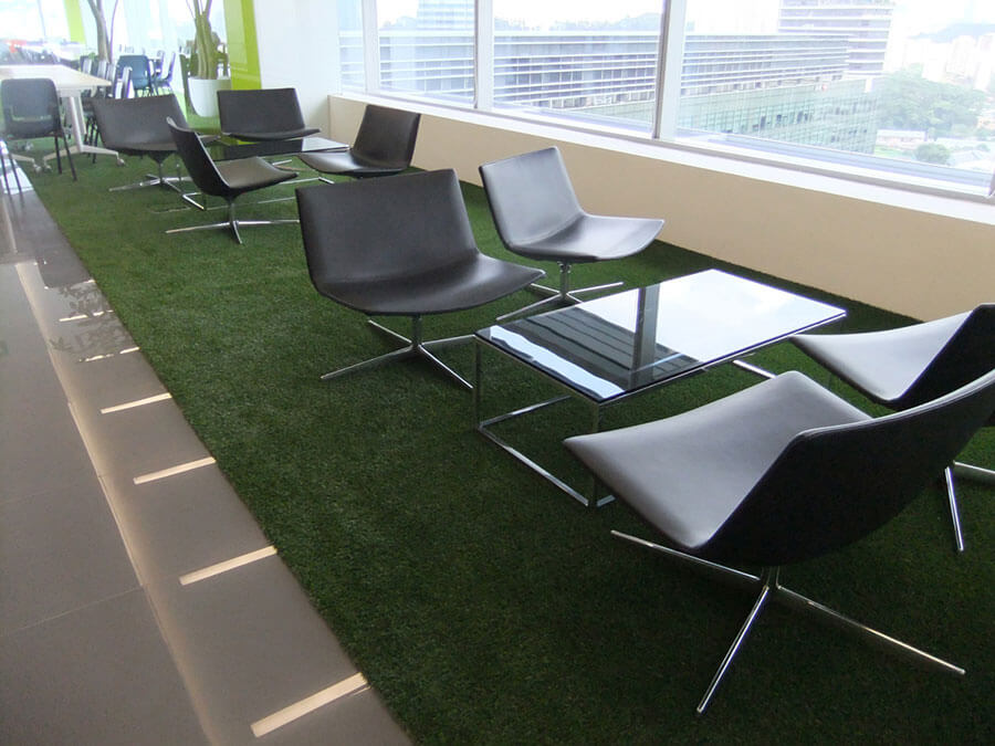Artificial Grass Indoors For Green Carpet And Decorative
